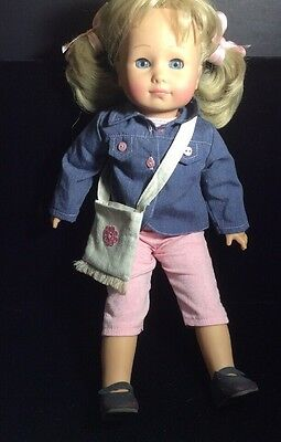 "Gotz 17"" Doll With Movable Eyes With Box"