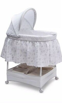 New in Box Gliding Baby Bassinet