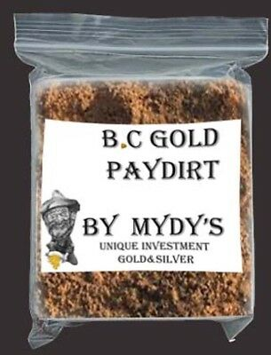 3 oz Gold Paydirt Unsearched and 100% Added GOLD! Panning Nuggets (#0275)