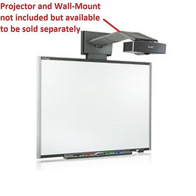 "SMART Technologies 77"" Interactive USB SMART Board SB680 Touch Whiteboard Extras"