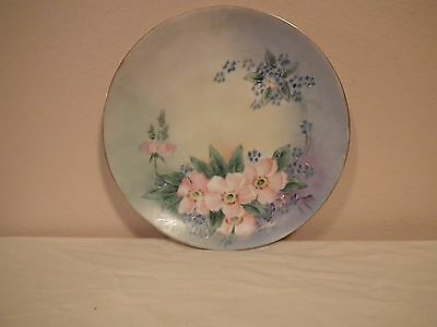 "H & C / Heinrich & Company Selb Bavaria 6-1/2"" Hand painted plate"
