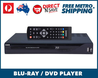Blu-Ray / DVD Player Multi Region USB input HDMI Output DLNA All Regions BD-3000