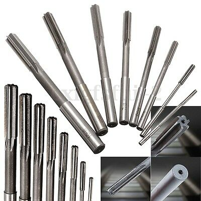 Set Of 3-10mm High speed Straight Shank HSS Chucking Machine Reamer Drill Bit