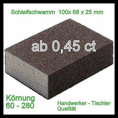 Wood Sanding Blocks Sanding Sponge Sanding Sponges ab0, 45ct Selectable Könung