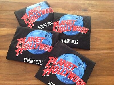 Planet Hollywood Beverly Hills T-Shirt - Xl - Bnwt