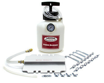 MOTIVE Early American Rectangular Style Power Bleeder Brake Bleeder Kit P/N 105