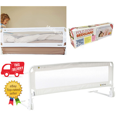 Children Toddler Safety Bed Rail Guard Folding Bedrail Bedguard Child Protection
