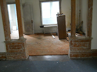Antique Craftsman Style Complete Colonnade  1934 Fir Architectural Salvage