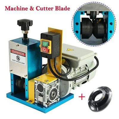Electric Motorized Coaxial Wire Stripping Machine Metal Tool Scrap Cable Strippe