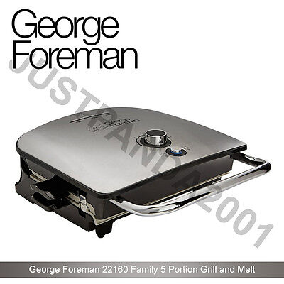 BD George Foreman 22160 Grill & Melt Advanced Health Grill with Removable Plates