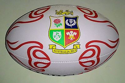 BRITISH & IRISH LIONS Full Size Supporters Rugby Ball - New