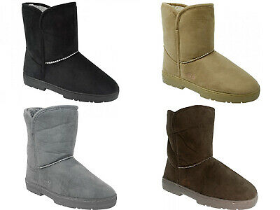 Scholl Orthaheel Womens Supple Ugg Boots Various Colours & Sizes Scholl