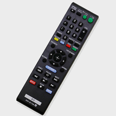 US New RMT-B119A Remote Control For Sony Blu-Ray DVD Player BDP-BX18 BDP-S185
