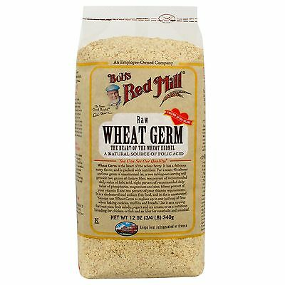 Bob's Red Mill, Natural Raw Wheat Germ, 12 oz (340 g)