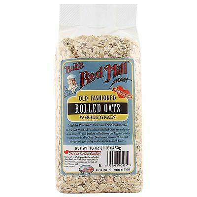 Bob's Red Mill, Old Fashioned Rolled Oats, Whole Grain, 16 oz (453 g)