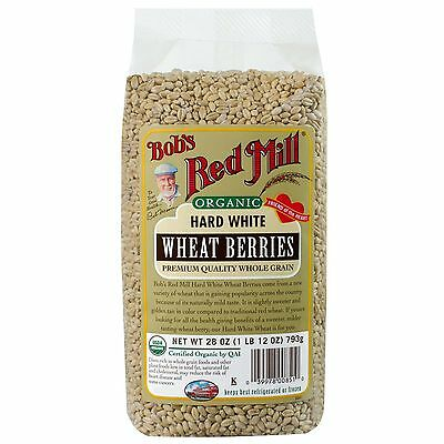 Bob's Red Mill, Organic, Hard White Wheat Berries, 28 oz (793 g)