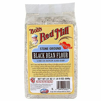 Bob's Red Mill, Black Bean Flour, 24 oz (680 g)
