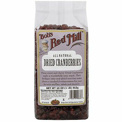Bob's Red Mill, Dried Cranberries, 16 oz (453 g)