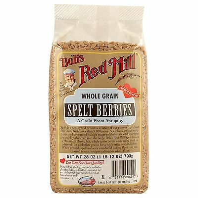 Bob's Red Mill, Whole Grain Spelt Berries, 28 oz (793 g)