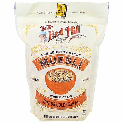 Bob's Red Mill, Old Country Style Muesli, 18 oz (510 g)