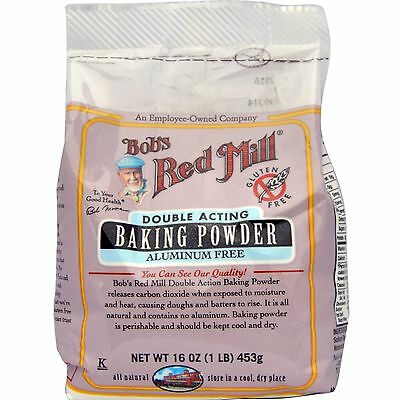 Bob's Red Mill, Baking Powder, Gluten Free, 16 oz (453 g)