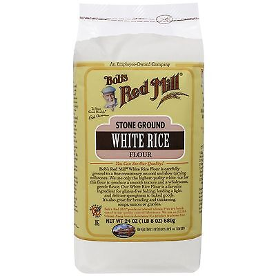 Bob's Red Mill, Stone Ground White Rice Flour, 24 oz (680 g)