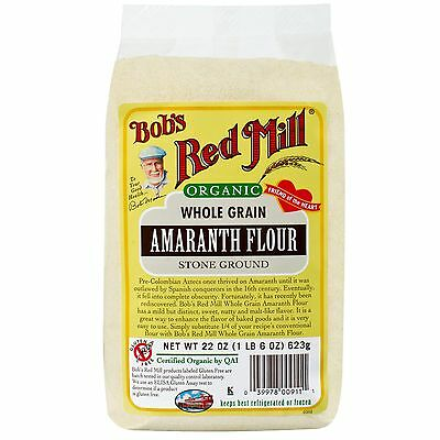 Bob's Red Mill, Organic, Whole Grain Amaranth Flour, 22 oz (623 g)
