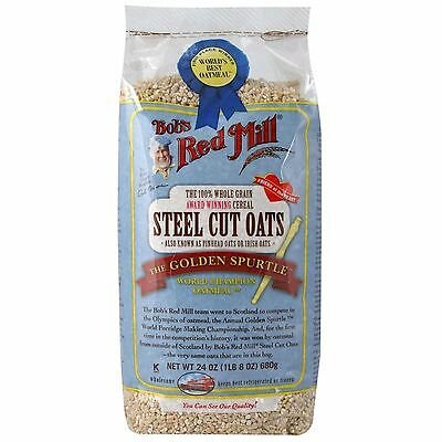 Bob's Red Mill, Steel Cut Oats, Natural Cereal, 24 oz (680 g)