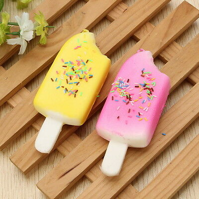 11cm Ice-lolly Popsicle Squishy Charm Phone Strap Charm Random Color Stress Toy