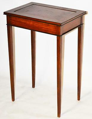 Antique mahogany Occasional Table with Reversible Top [PL3341]