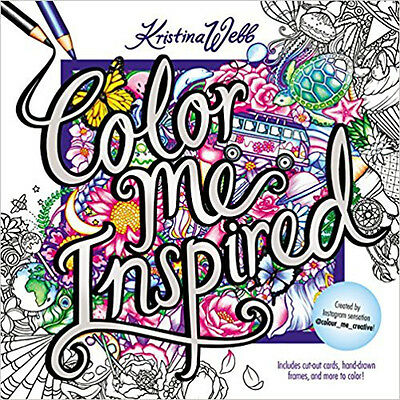 Color Me Inspired (Colouring Books), New, Webb, Kristina Book