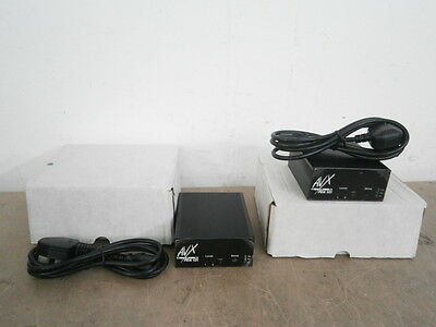 JOB LOT 2 x AVX PDA 101 Induction Loop Microphone Hearing Assistance System