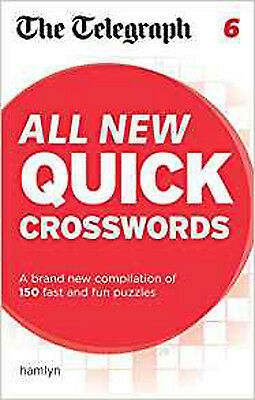 The Telegraph All New Quick Crosswords 6 (The Telegraph Puzzle Books), New, THE