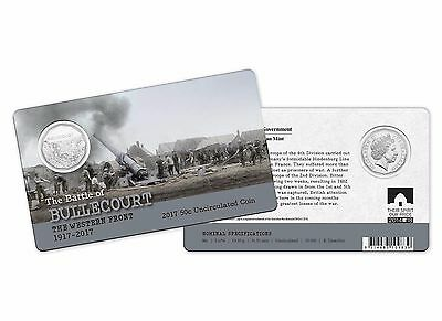 2017 The Battle of Bullecourt - The Western Front 50c Coin