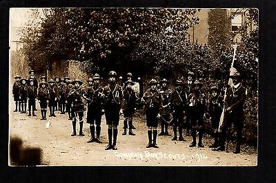 Conway Boy Scouts 1914 - real photographic postcard