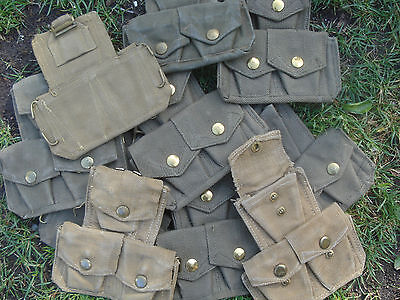 Original Pouch Genoine EH 303 AMMO Enfield Army munitions the British WEBB