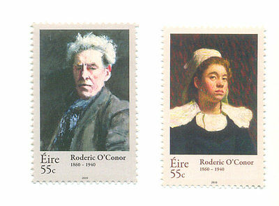 Ireland-Roderic O,Conner Artist set of 2 mnh (2009-10)