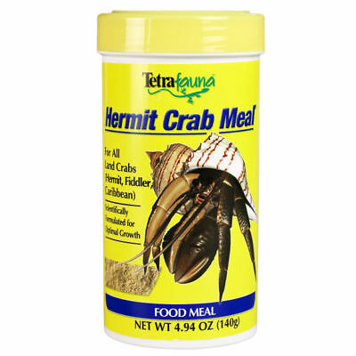 Tetra Fauna Hermit Crab Meal For Optimal Growth High Protein Food Diet 4.94oz