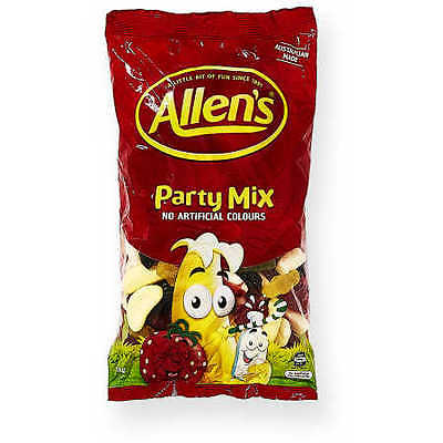 Allens Party Mix Lollies Bulk Bag 1kg