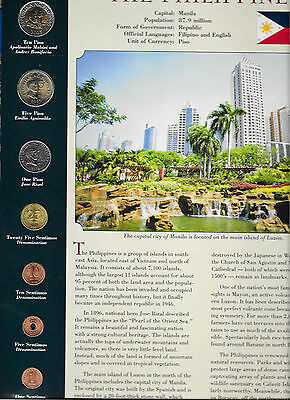 Coins from Around the World Philippines 2002 - 2004 BU UNC 10 Piso 2003
