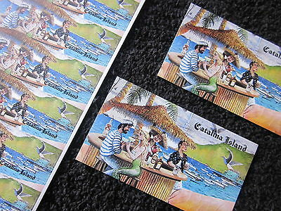 Catalina Island Tiles Stickers & Magnets 20 Items Wall Mural Collectibles