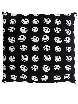 The Nightmare Before Christmas Black Cushion 45 x 45cm