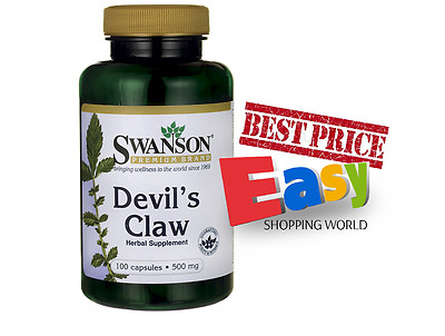 Swanson Devils Claw £6.50 discomforts of joint pain relieving action, back pain