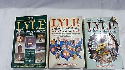 3 LYLE Collecting Americana Price & Information Guide Books Illustrated