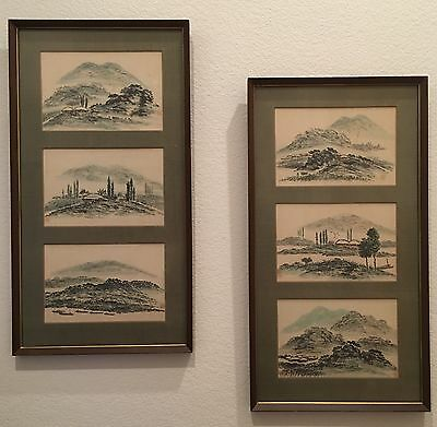 Korean Original Watercolor Paintings