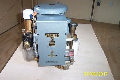 Air Techniques  Dental Vacuum Pump 208-230V For 1 Hve&2Se With Water Recycler