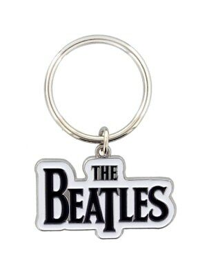 The Beatles Drop T Logo Keyring