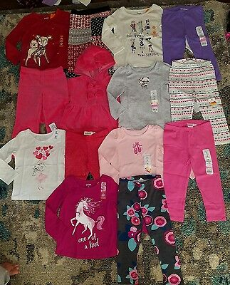 NWT Girls Size 24 Mo. 2T Lot of Winter Clothes Outfits Gymboree Fall