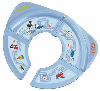 Disney Mickey Mouse Foldable Travel Portable Potty Toilet Trainer Training Seat