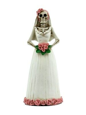Day Of The Dead Bride Ornament 6.5x15cm
